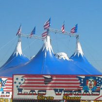 O Circo está na barra – Circo Las Vegas