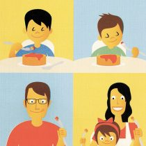 Livro infantil resgata o afeto como ingrediente…