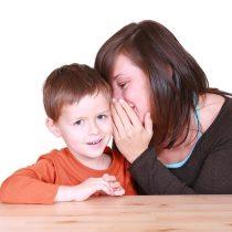 Criança guarda segredo?
