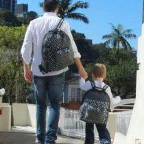 Pais que criam os filhos sozinhos