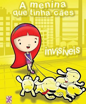 Livro – A menina que tinha cães invisíveis