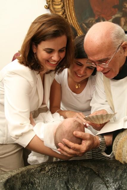 Eu, Marcella (madrinha) e Luisa // Fotos Daniel Diniz