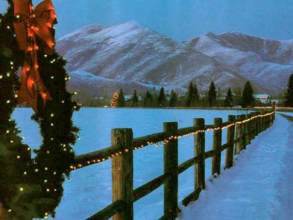 Natal no estado americano do Colorado.