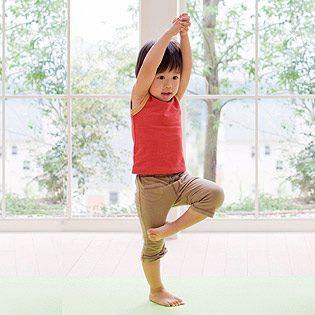 Crianças de 2 a 4 anos – Yoga
