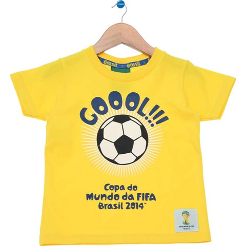 Camiseta Copa do Mundo - Tricae