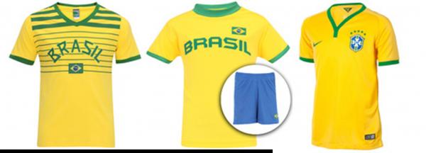 Blusas do Brasil - Centauro