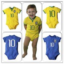 Mais um jogo do Brasil e seu filho já está de Brasil?