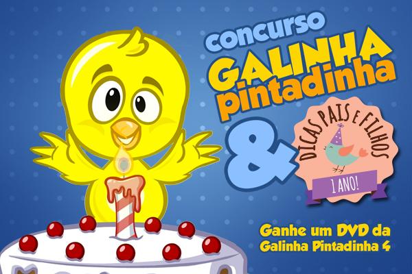 Concurso Cultural Galinha Pintadinha 4 Dicas Pais E Filhos