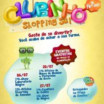 Diversão garantida para as crianças no Shopping Sul