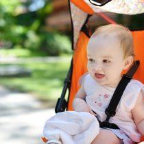 Higienização do carrinho de bebê