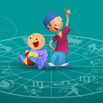 Os signos do zodíaco e as crianças
