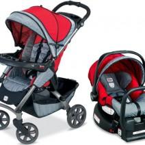 A escolha do carrinho do bebê