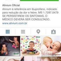 Alivium lança perfil no Instagram