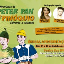 Teatro – As Aventuras de Peter Pan e Pinóquio