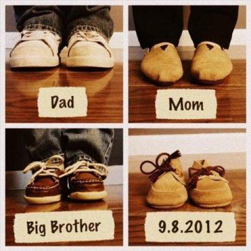 Ideias criativas para anunciar a gravidez