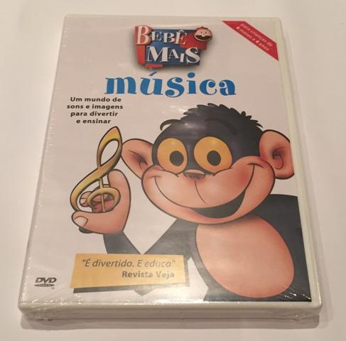 DVD Bebê Mais Música