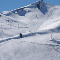 Esquiar em família
