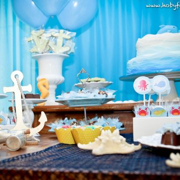 Festa Infantil: Fundo do Mar