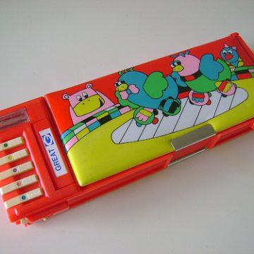 Material Escolar da década de 80