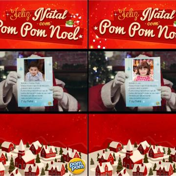 Pom Pom lança aplicativo especial de Natal em sua página no Facebook