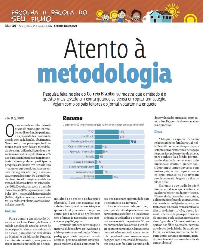 Correio Braziliense 25/10/2014
