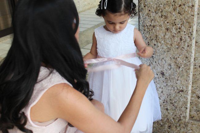 Batizado de Menina