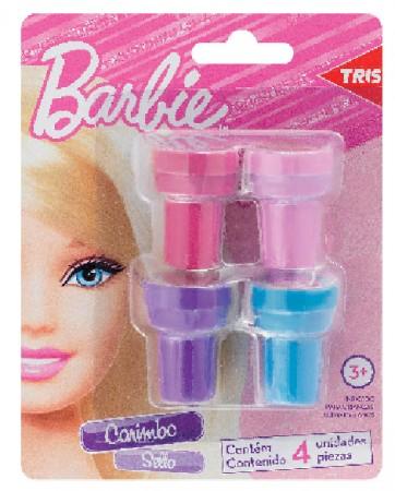 Carimbo Tintado Barbie