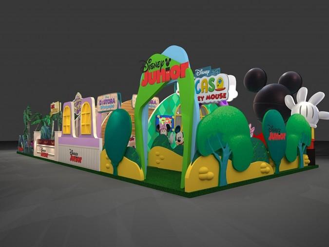Disney Junior no Via Parque
