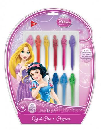 Giz de Cera 3D Princesas