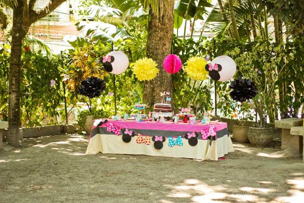 Festa Infantil: Piquenique da Minnie - Dicas Pais e Filhos