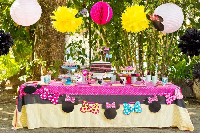 Festa Infantil: Piquenique da Minnie
