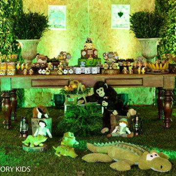 Festa Infantil: Safári de Gêmeos