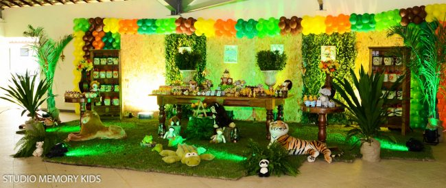 Festa Infantil: Safari