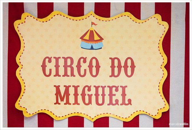 Festa Infantil: Grande Circo Vintage