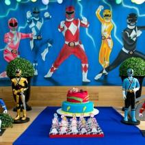 Festa Infantil: Power Rangers