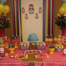 Festa Infantil: Oficina das Matrioskas