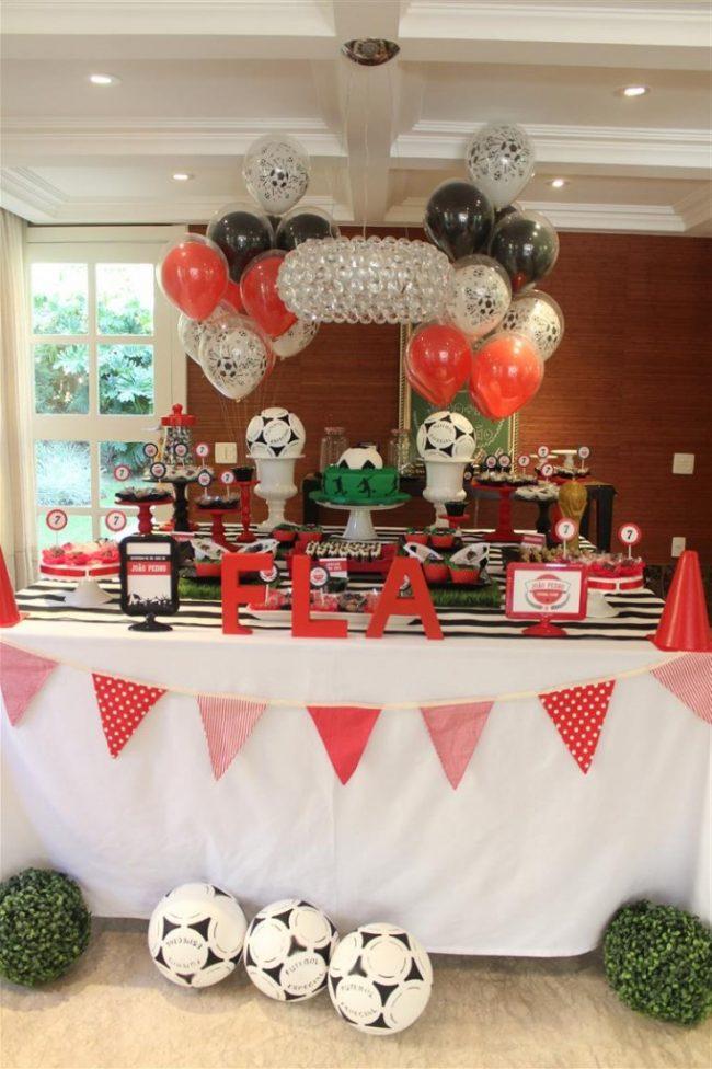 Festa Infantil: Futebol Clube – Flamengo