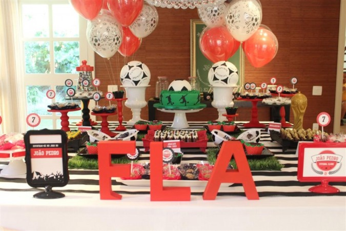 Festa Infantil: Futebol Clube - Flamengo