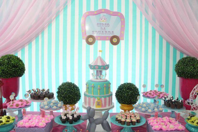 Festa Infantil: Circo Girl