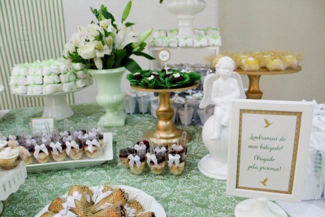 Festa Infantil: Batizado Clássico