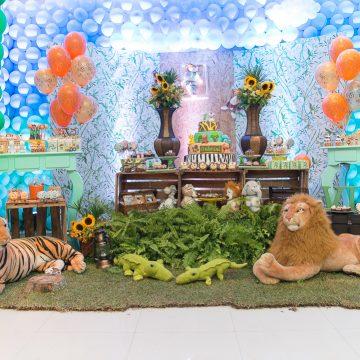 Festa Infantil: Safári