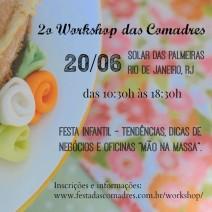 Workshop da Festa das Comadres!