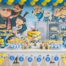 Festa Infantil: Minions do Samuel