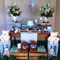 Festa Infantil: Batizado de ursinhos do Antonio