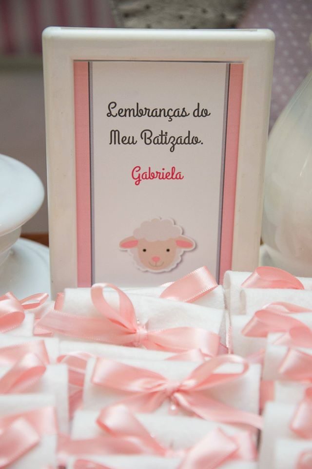 Festa Infantil: Batizado da Gabi