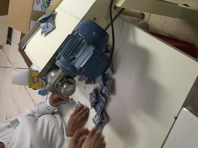 Visita na fábrica das pastilhas Valda