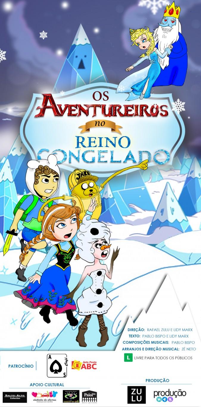 Os Aventureiros no Reino Congelado