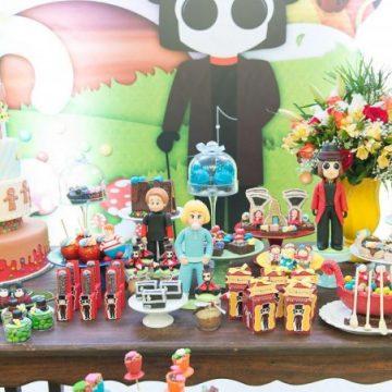 Festa Infantil: Fantástica Fábrica de Chocolate