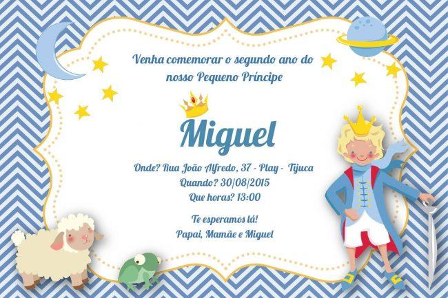 Festa Infantil: Pequeno Príncipe