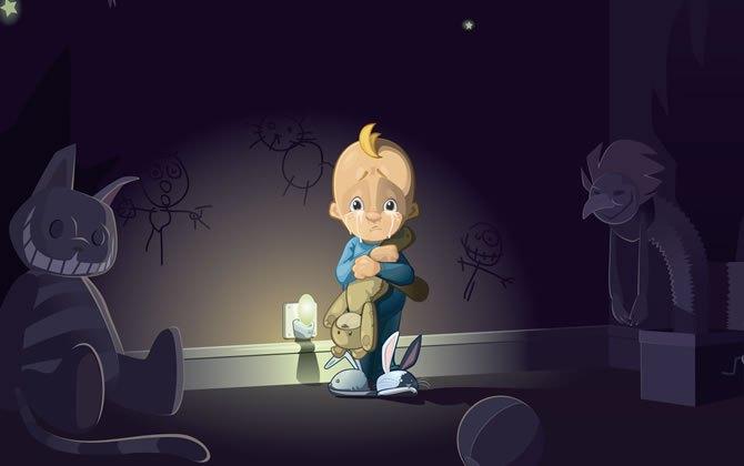 Medo do Escuro: Como Ajudar as Crianças com Esse Desafio